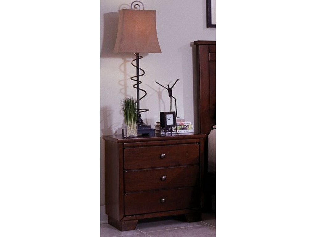 Progressive Furniture Bedroom Nightstand Four States