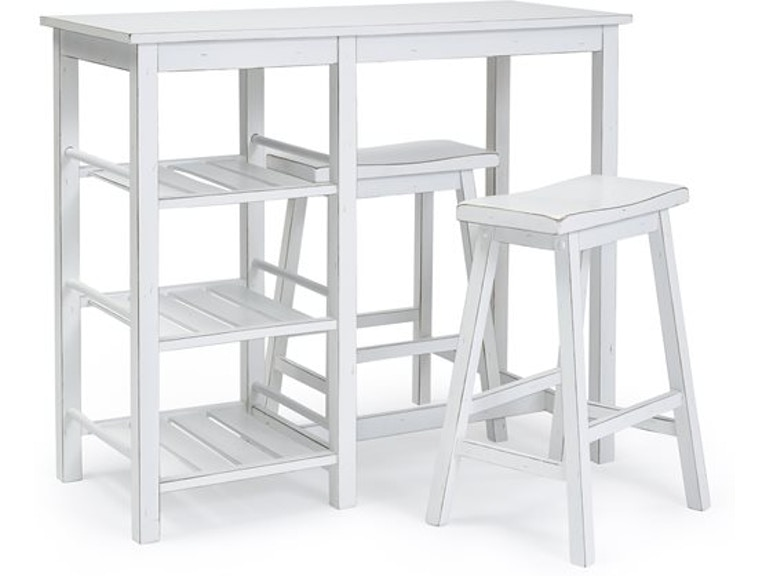 Progressive Furniture Counter Table With Two Stools A211 56