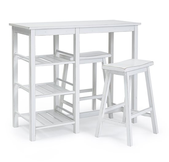 progressive furniture counter table with two stools a21153 - Progressive Furniture