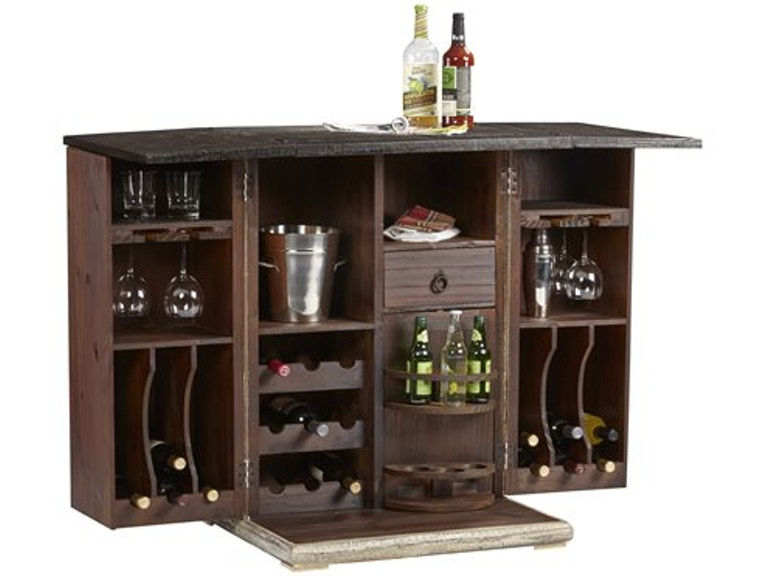 Progressive Furniture Bar And Game Room Bar Cabinet A500 74w