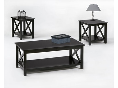 Progressive Furniture Living Room 3 Pack Cocktail And 2 Ends
