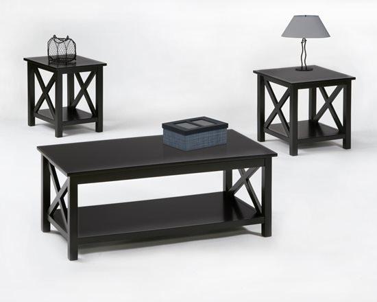 Progressive Furniture Living Room 3 Pack Cocktail And 2 Ends