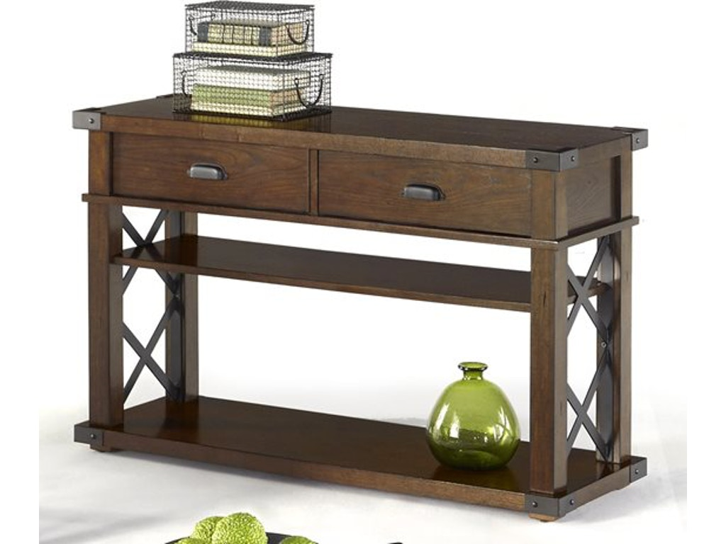 Progressive Furniture Living Room Sofa Console Table P527