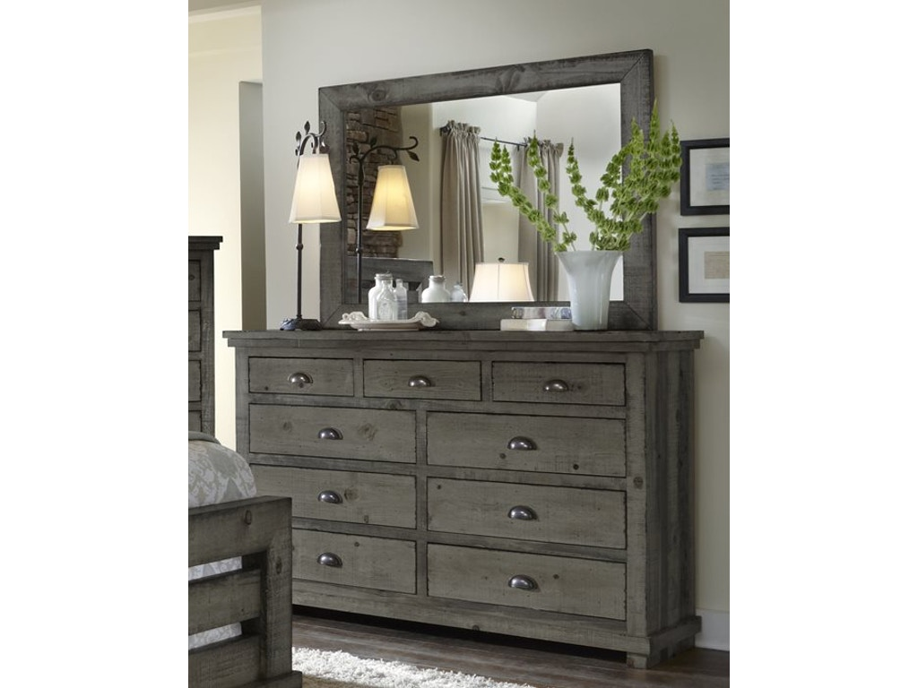 Progressive Furniture Bedroom Drawer Dresser