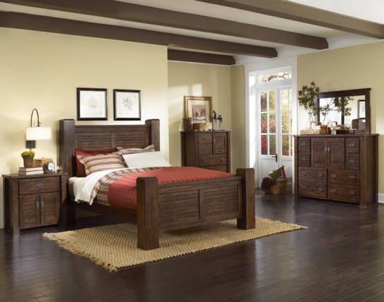 Progressive Furniture Bedroom King Rails P611 97 Hunter s
