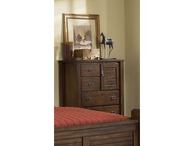 Trestlewood 5pc Poster Bedroom Set: Headboard, Footboard, Rails ...
