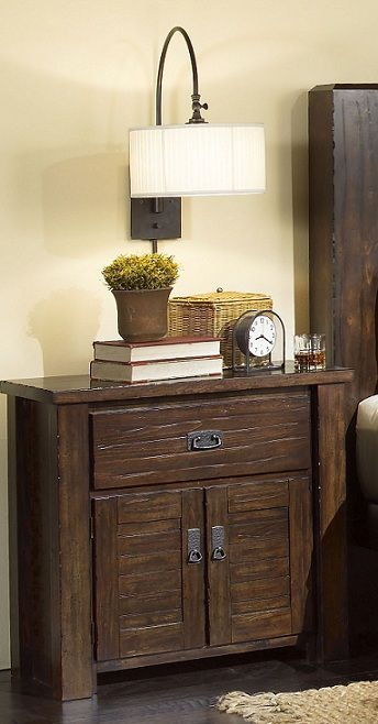 progressive furniture nightstand p61144