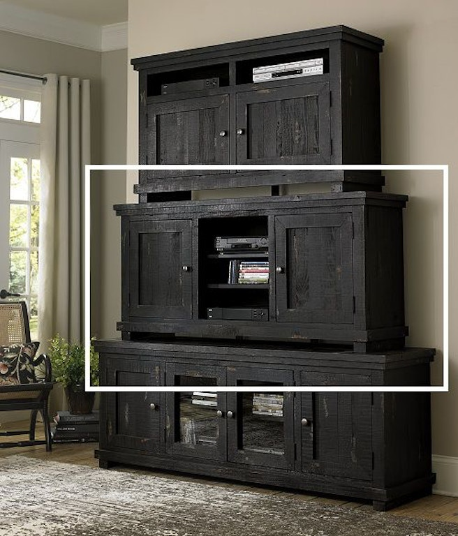 Progressive furniture home entertainment 64 inches console for Home theater furniture louisville ky