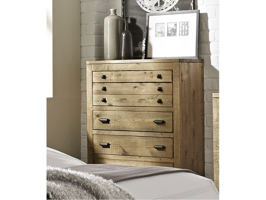 Progressive Furniture Bedroom Chest Four States