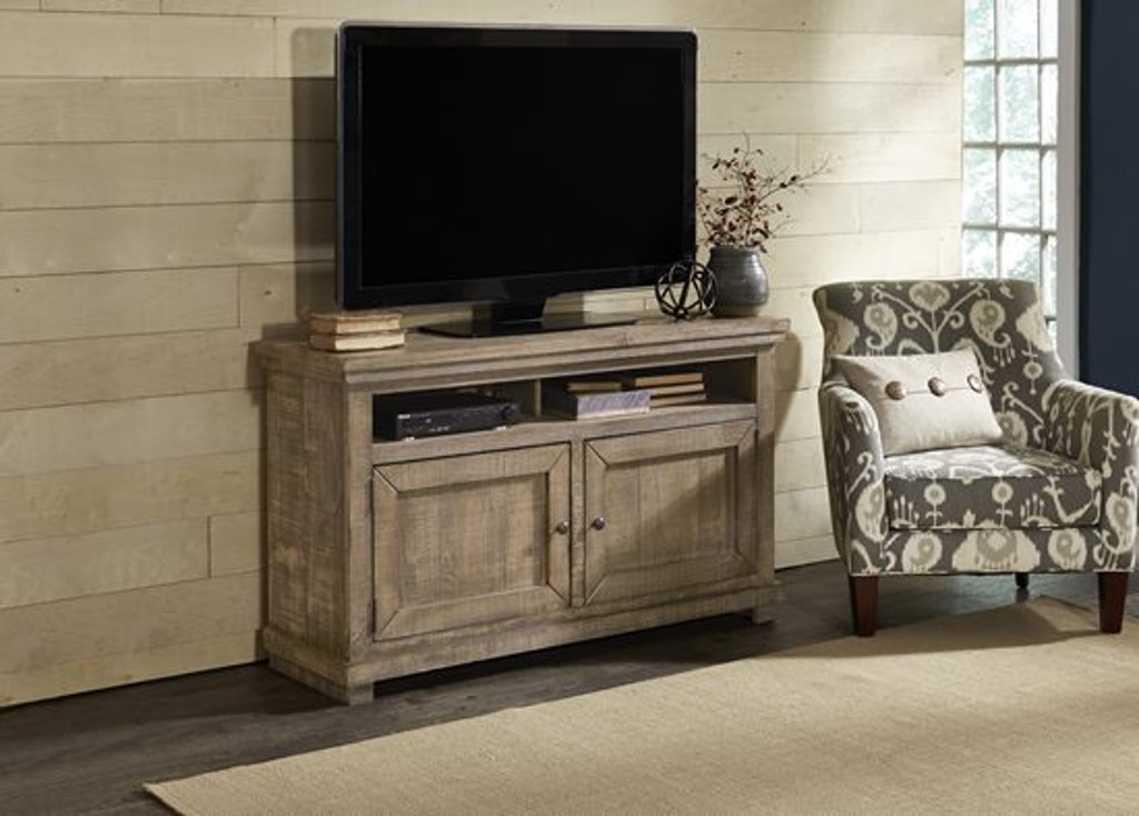 Progressive furniture home entertainment 54 inch console for Home theater furniture louisville ky