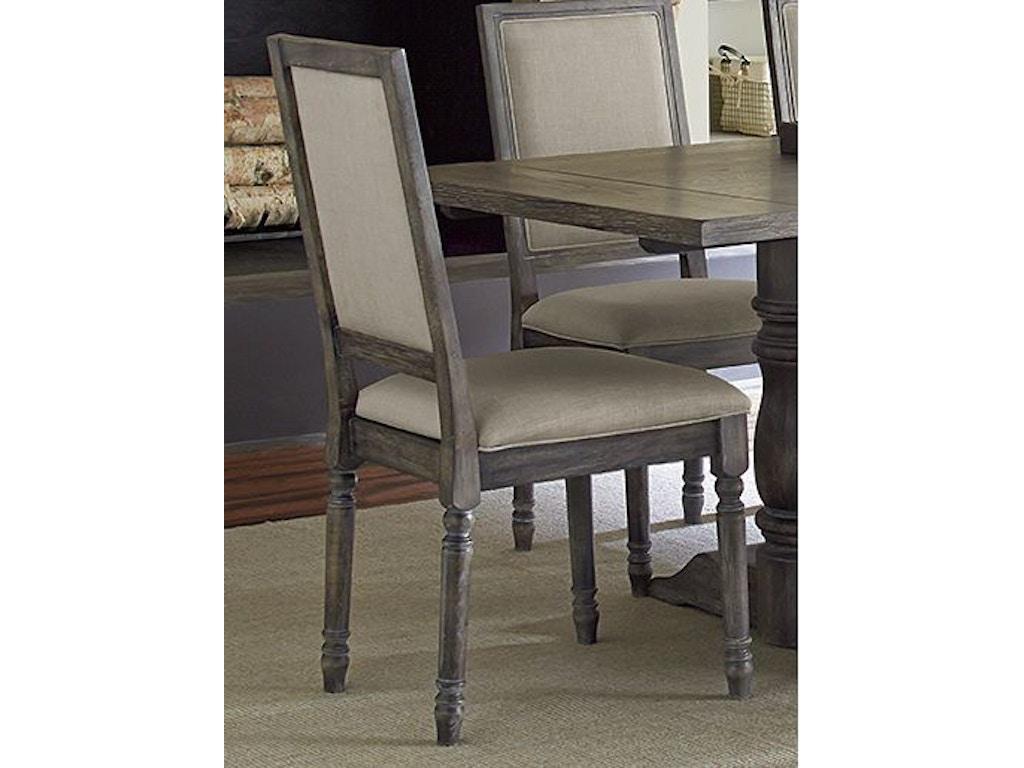 Progressive Furniture Dining Room Upholstered Back Chair 2 Per Carton P836 65 Winner