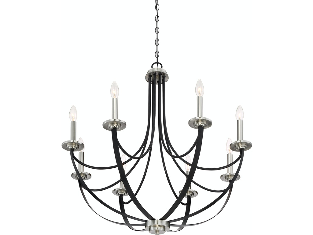 Quoizel lamps and lighting chandelier ana5008k west coast living quoizel alana chandelier ana5008k arubaitofo Choice Image
