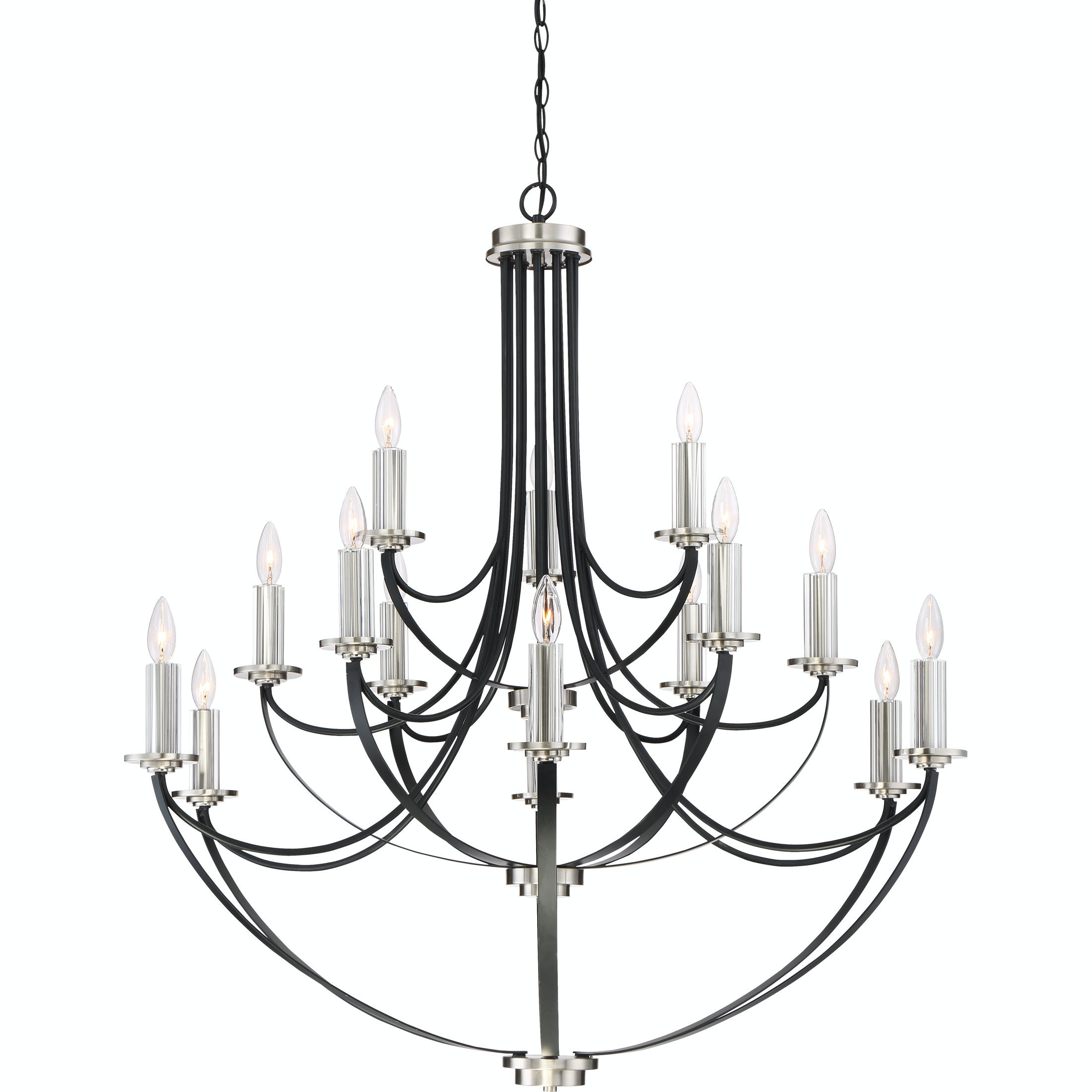 Quoizel Chandelier ANA5015K  sc 1 st  Frazier and Son Furniture & Quoizel Lamps and Lighting Chandelier - Frazier and Son Furniture ...