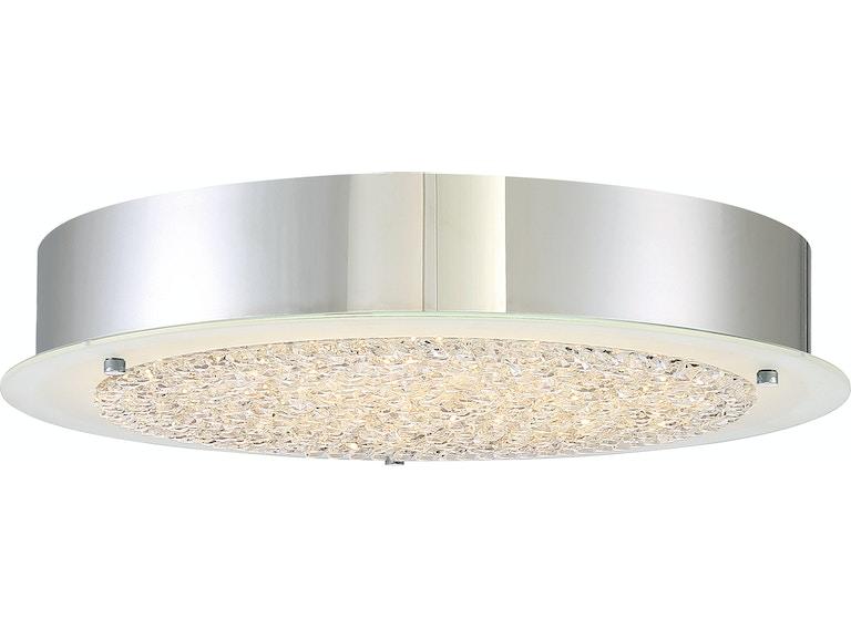 Quoizel Lamps And Lighting Blaze Flush Mount Frazier