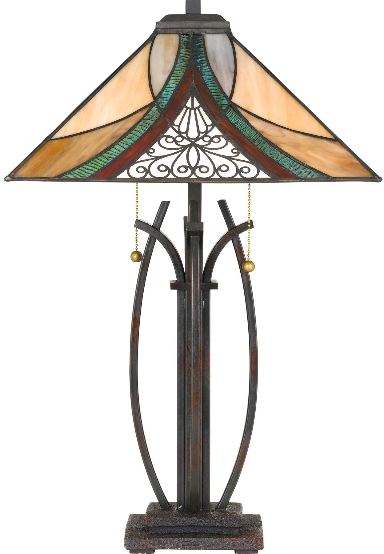 Quoizel Lamps And Lighting Tiffany Table Lamp Tf3342tva Noble