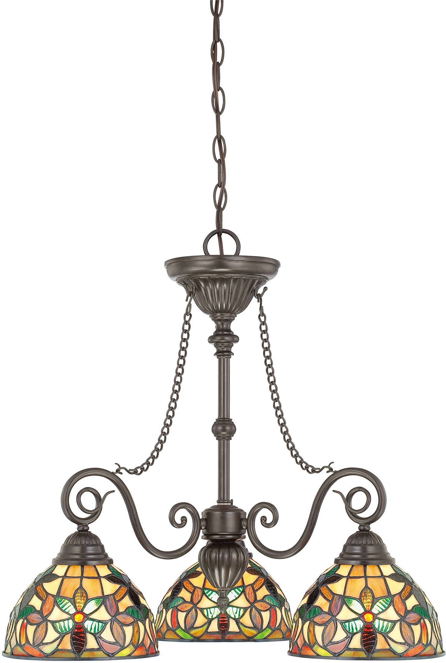 Quoizel Lamps And Lighting Dinette Chandelier Tfkm5103vb