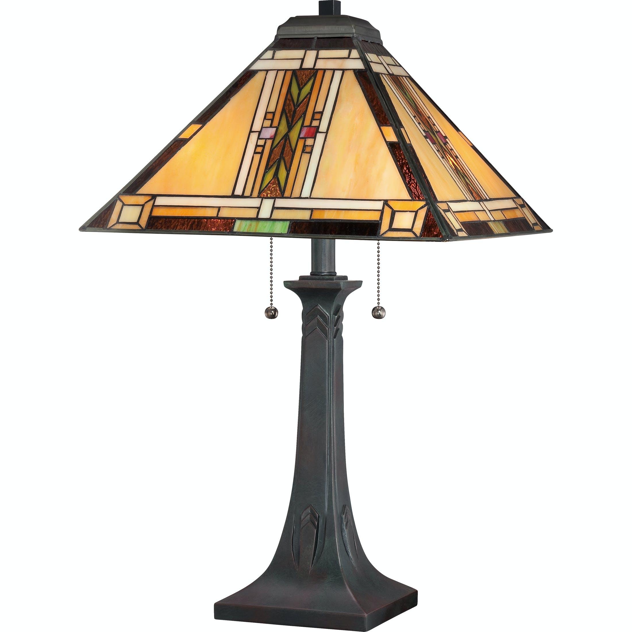 Quoizel Lamps And Lighting Navajo Table Lamp Tfno6325va Mark Thomas Home Santa Clara Ca