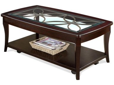 Riverside Rectangle Cocktail Table-Castered 284758