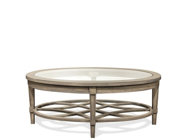 Riverside Oval Coffee Table 15501