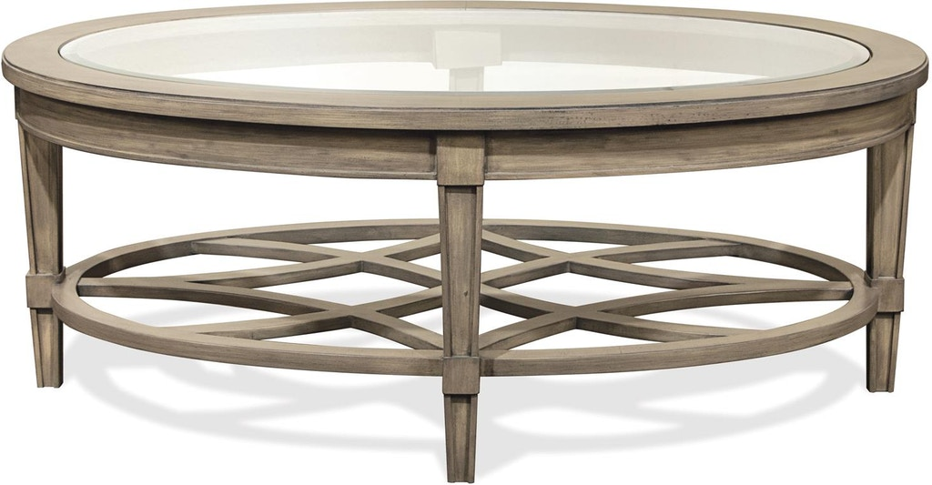 Riverside Living Room Oval Coffee Table 15501 Isaak S Home Furnishings And Sleep Center