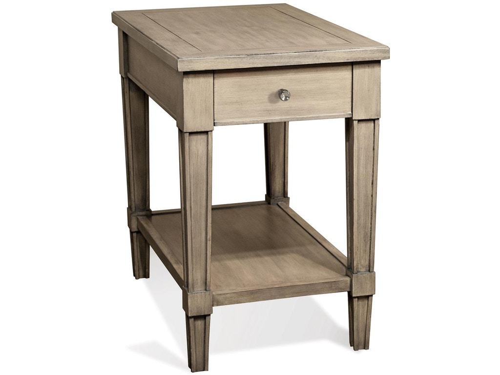 Chairside table rv15511 for Walter e smithe living room furniture
