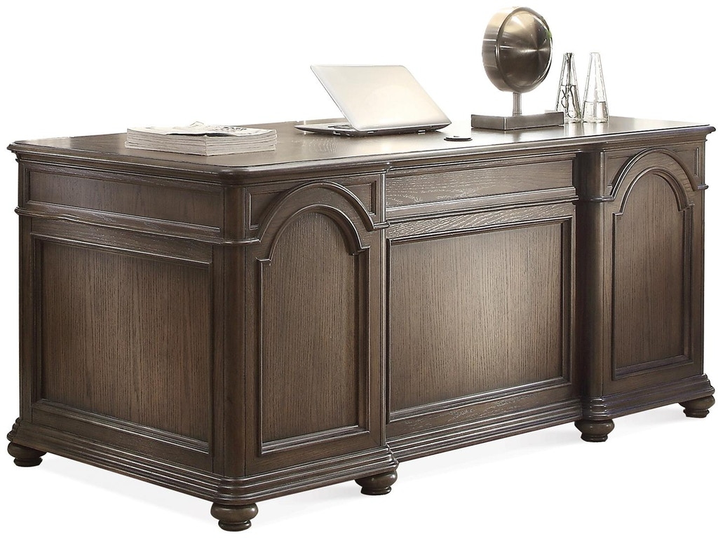 Hom Office Furniture: Riverside Home Office Executive Desk 15831
