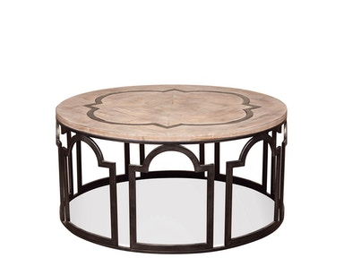 Riverside Round Coffee Table 20102