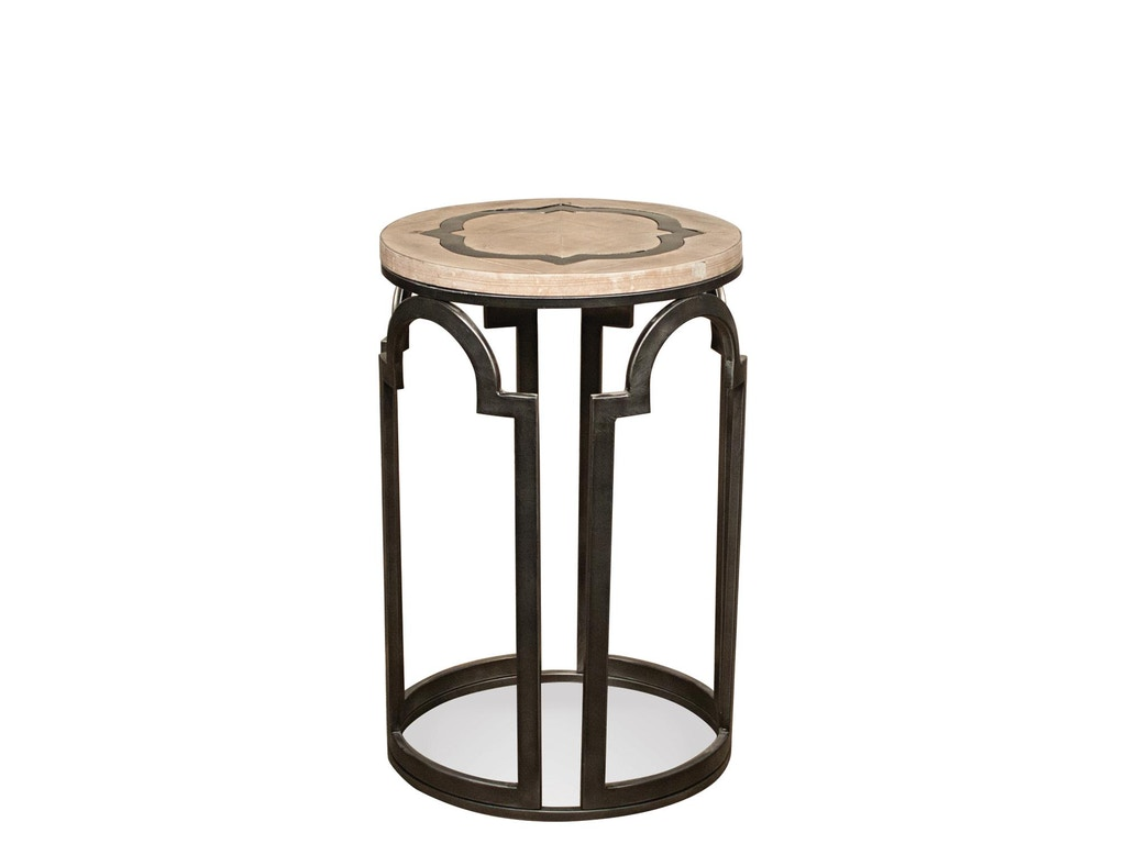 Round Chairside Table Riverside Living Room Round Chairside Table 20112 Bennington