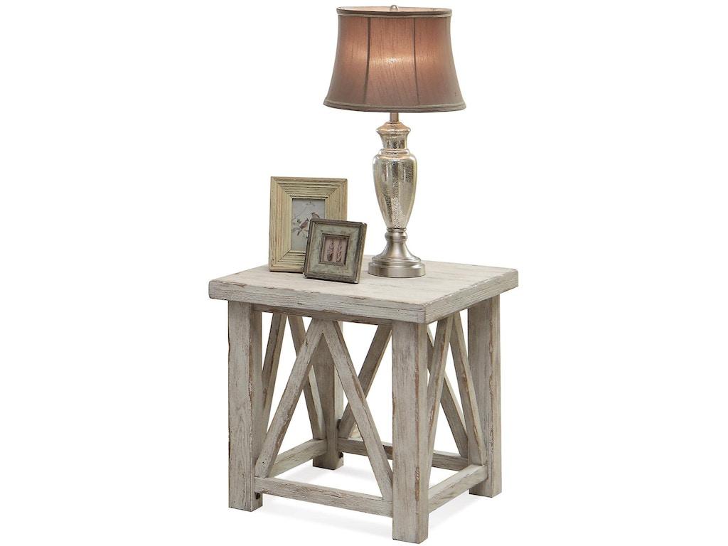 Riverside Living Room Side Table 21209