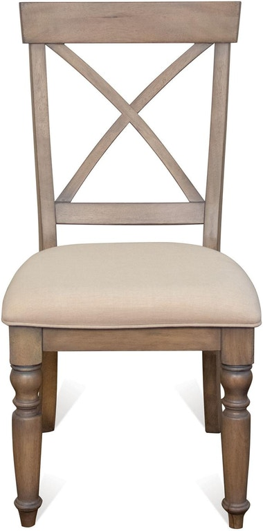 Riverside Dining Room X Back Side Chair 21358 Kettle