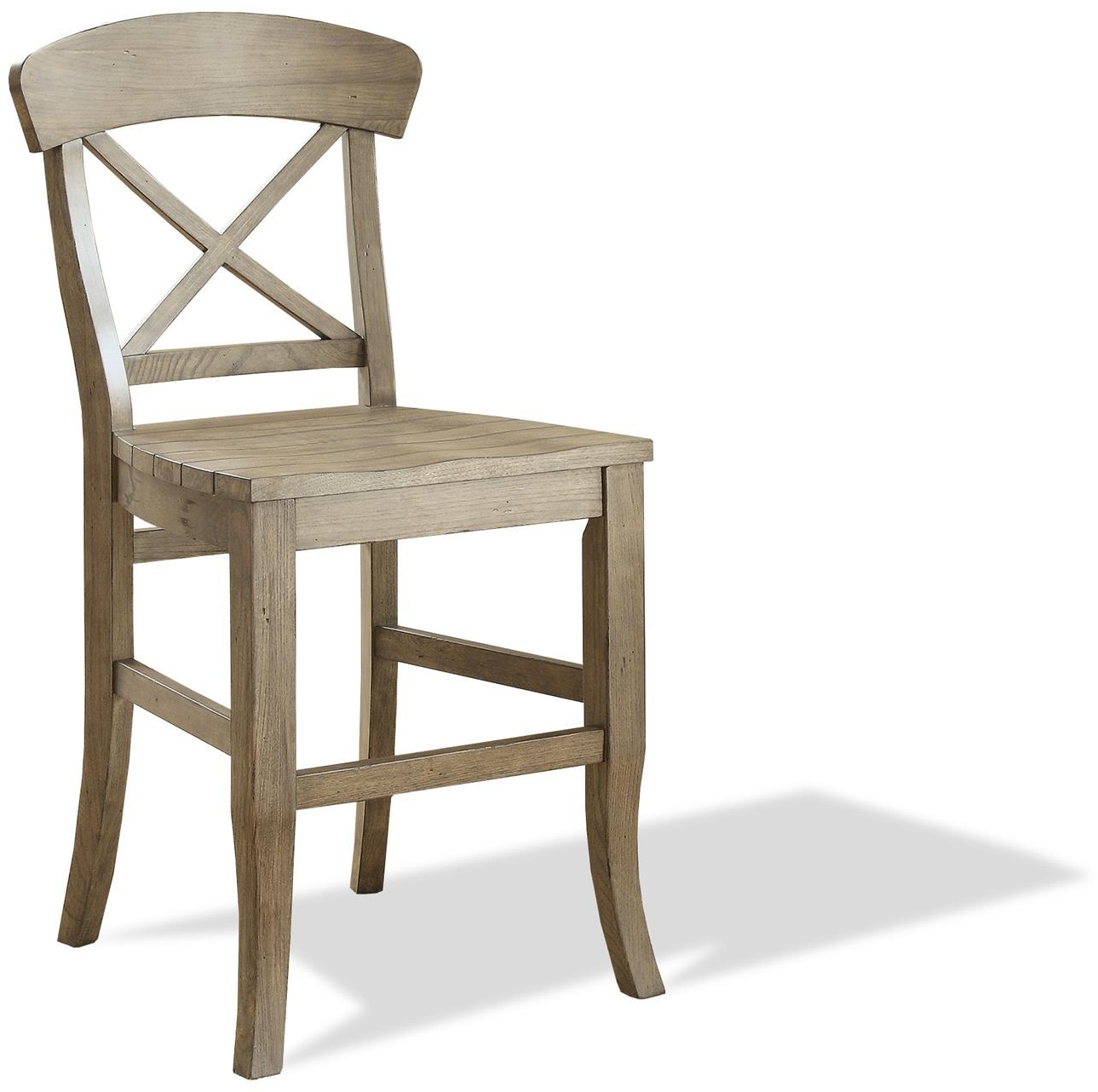 Riverside Bar And Game Room X Back Counter Stool 27459