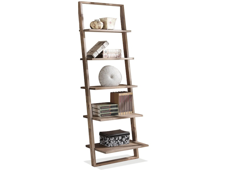 riverside home office leaning bookcase 27737 indian