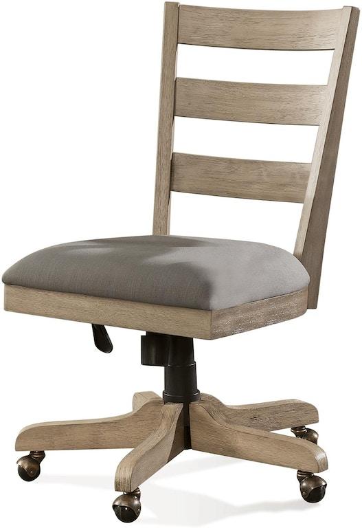 Admirable Riverside Home Office Wood Back Upholstered Desk Chair 28127 Download Free Architecture Designs Intelgarnamadebymaigaardcom