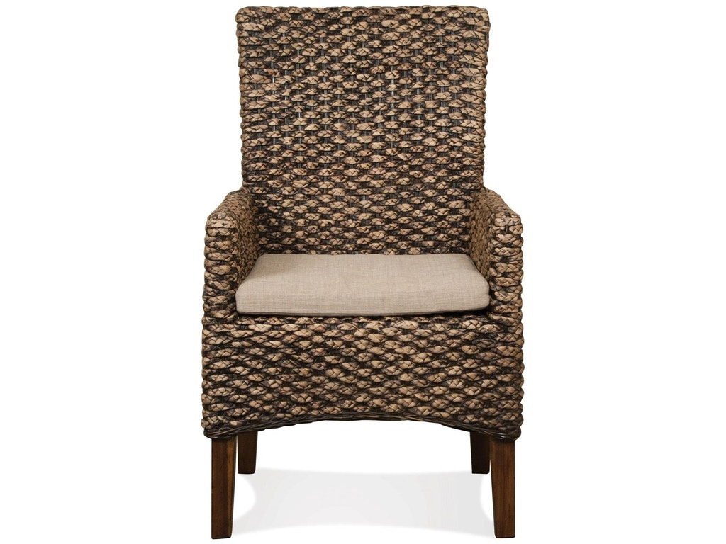 Riverside Dining Room Woven Arm Chair 36966 Priba