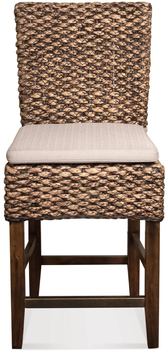 Riverside Bar And Game Room Woven Counter Stool 36967