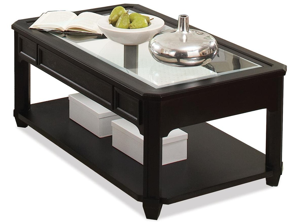 Rectangular Glass Top Coffee Table Rv40803