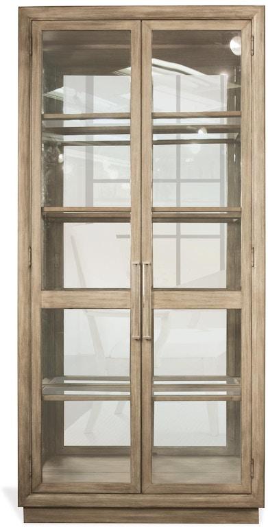 Riverside Living Room Display Cabinet 50354 Matter