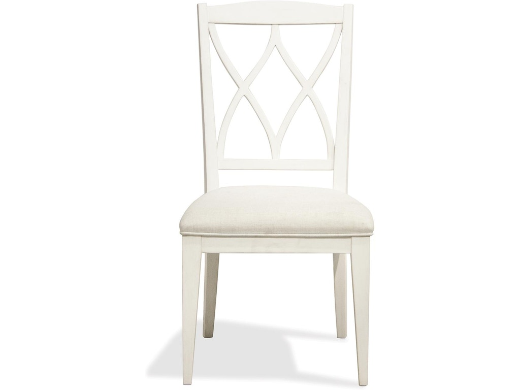 Admirable Riverside Dining Room Xx Back Upholstered Side Chair Rv59397 Walter E Smithe Furniture Design Gmtry Best Dining Table And Chair Ideas Images Gmtryco