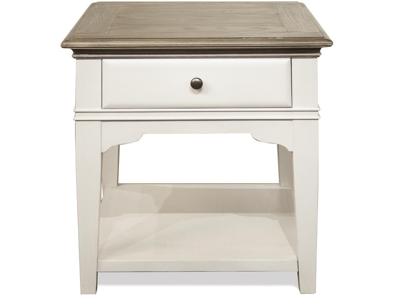Riverside Living Room Leg Side Table 59508 At Matter Brothers Furniture