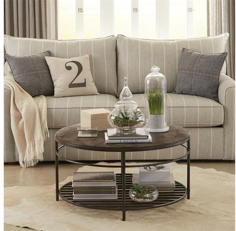 riverside living room round coffee table 80202  ramsey