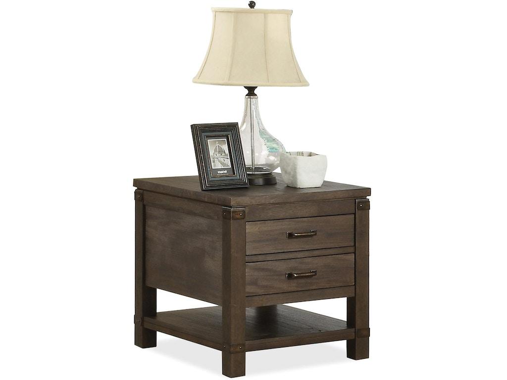 Riverside Living Room Rectangular Side Table 84509