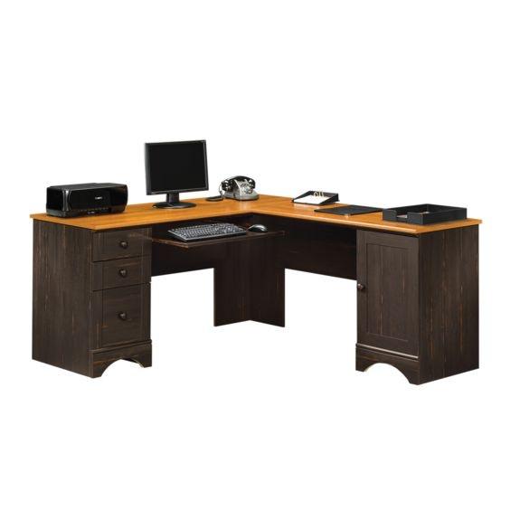 Superieur Harbor View Corner Computer Desk By Sauder