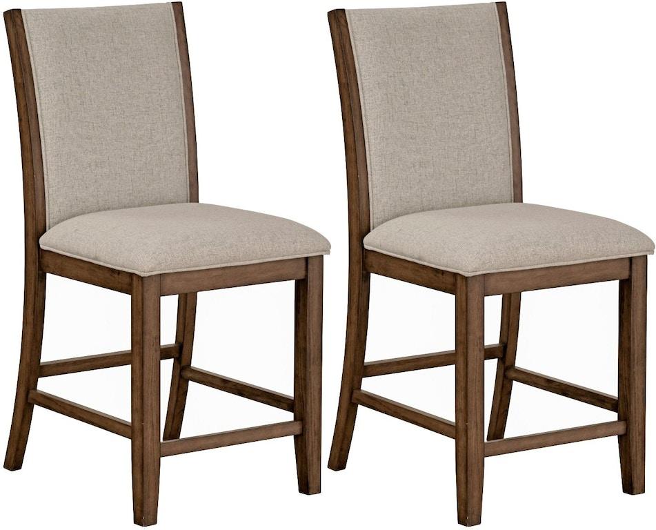Awe Inspiring Standard Furniture Dining Room Zayden Brown 2 Pack Counter Inzonedesignstudio Interior Chair Design Inzonedesignstudiocom