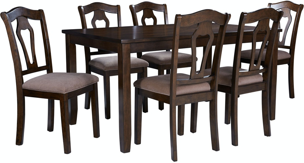 Standard Furniture Dining Room Granville Dining Table Set 16142 Haynes Brothers Volusia County