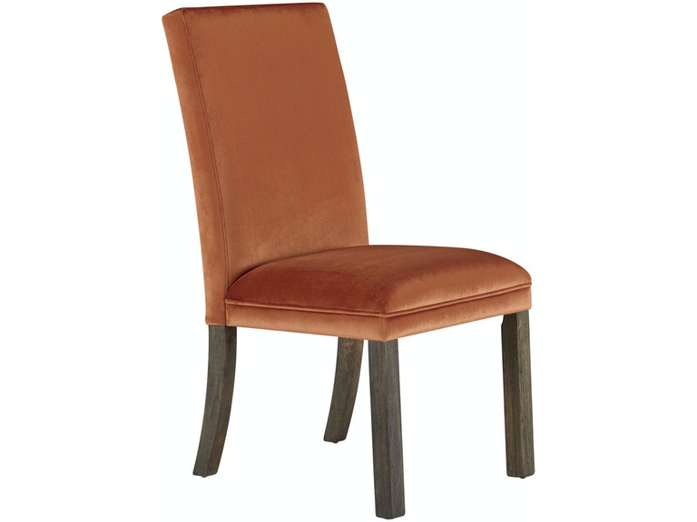 Standard Furniture Dining Room Ton Upholstered Chair Orange 19415e At Tate