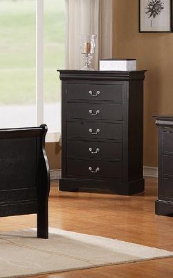 Standard Furniture Lewiston Nightstand Black