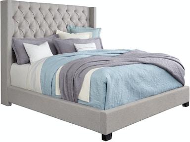 Standard Furniture Bedroom Bed 6 6 Upholstered Light Grey