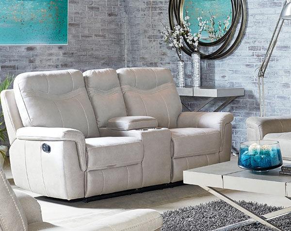 Standard Furniture Manual Stone Console Loveseat 4017431