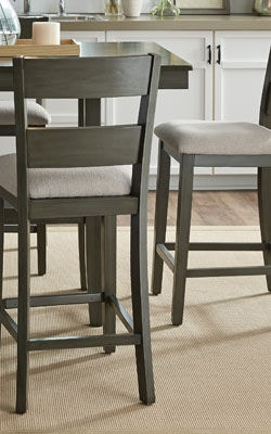 standard furniture dining room counter height table with 4 chairs