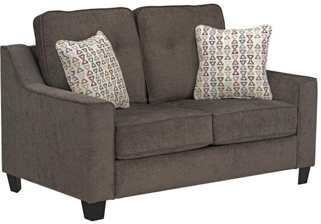 Standard Furniture Living Room Marco Upholstered Loveseat ...